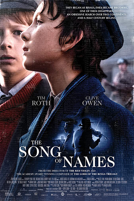 The Song of Names [2019 Canada, Hungary Movie] Drama
