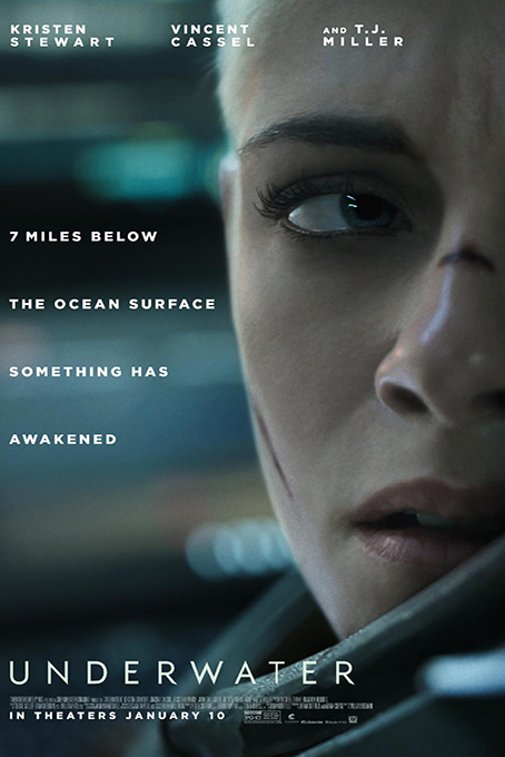 Underwater [2020 English Movie] Action, Horror, Science Fiction, Thriller, USA