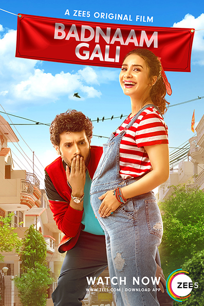 Badnaam Gali [2019 India Movie] Hindi, Drama, Comedy, Family
