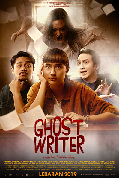 Ghost Writer [2019 Indonesia Movie] Comedy, Horror