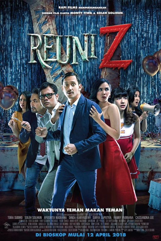 Reuni Z [2018 Indonesia Movie] Comedy, Horror