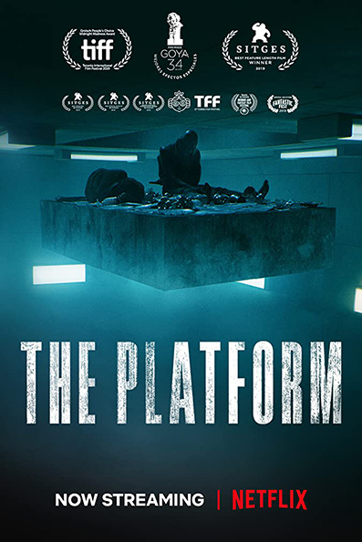 The Platform [2019 English Movie] Horror, Sci Fi, Thriller, English Dub, Spain