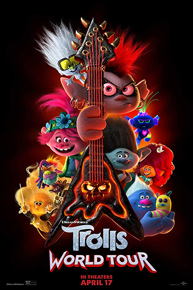 Trolls World Tour [2020 English Movie] Animation, Family, USA