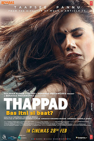 Thappad [2020 India Movie] Drama, Hindi