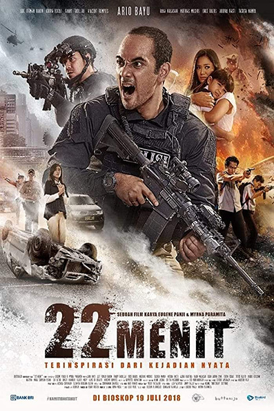 22 Menit [2018 Indonesia Movie] Action