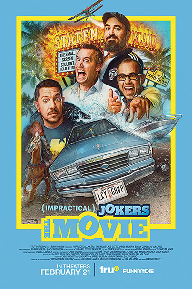 Impractical Jokers: The Movie [2020 English Movie] Comedy, USA