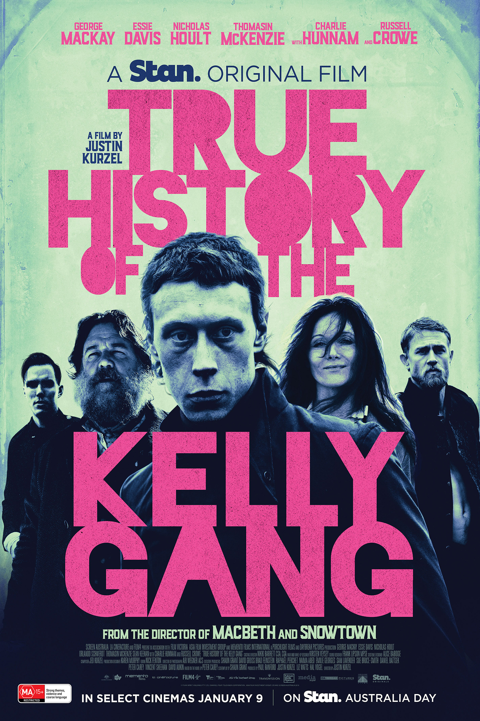 True History of the Kelly Gang [2020 English Movie] Crime, Drama, Australia