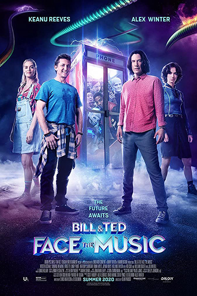 Bill & Ted Face The Music [2020 English Movie] Adventure, Comedy, Music, USA