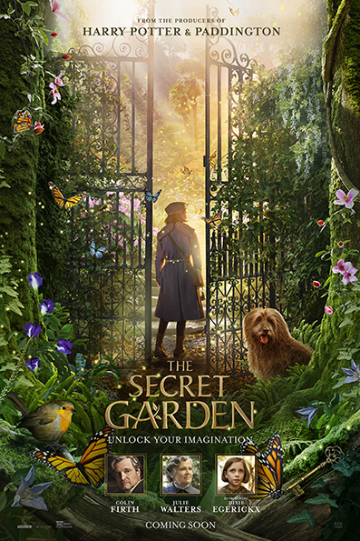 The Secret Garden [2020 English Movie] Drama, Fantasy, Family, UK, France, USA, China