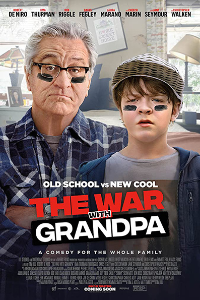 The War With Grandpa [2020 English Movie] Comedy