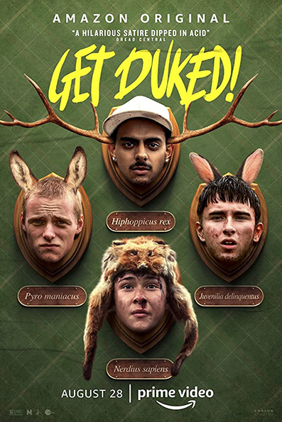 Get Duked [2019 English Movie] Comedy, Action, Horror, USA. Aka. Boyz in the Wood