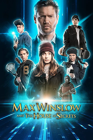 Max Winslow and the House of Secrets [2020 English Movie] Family, Sci Fi, Thirller, USA