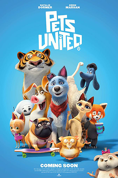 Pets United [2019 English Movie] Animation, Cartoon, Comedy (Germany, China)