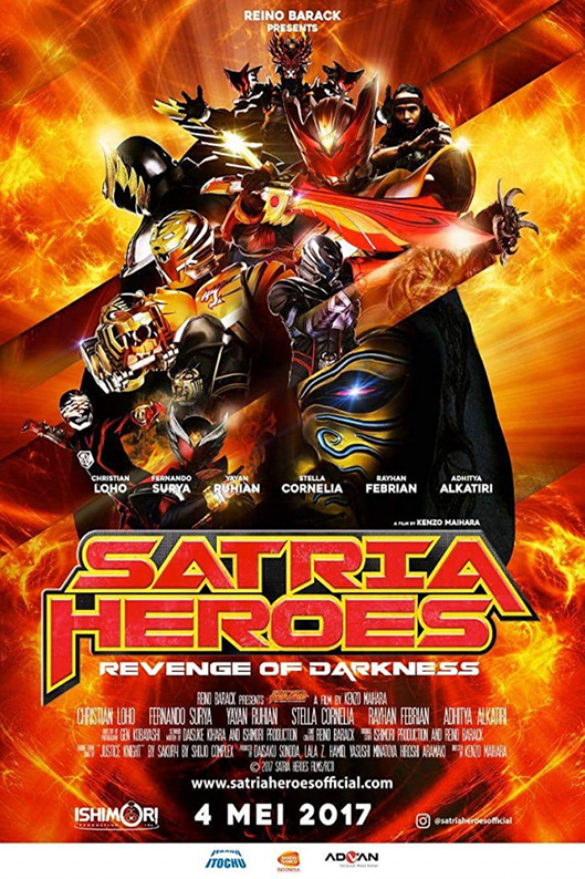 Satria Heroes: Revenge of the Darkness [2017 Indonesia Movie] Action, Fantasy, Sci Fi