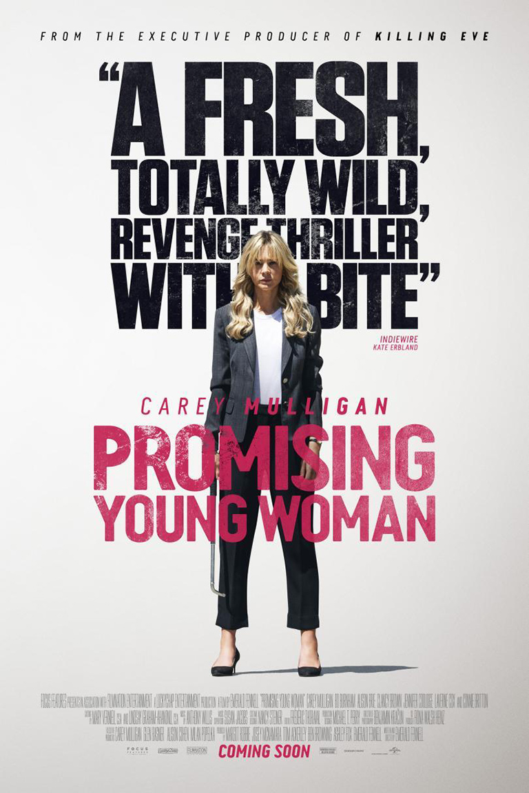 Promising Young Woman [2020 English Movie] Thriller, Comedy