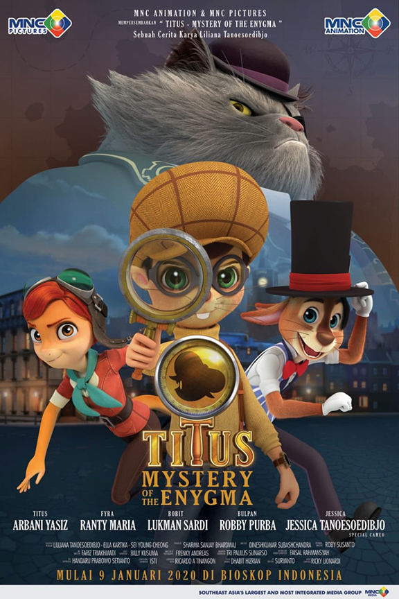 Titus Mystery of the Enygma [2020 Indonesia Movie] Animation, Family